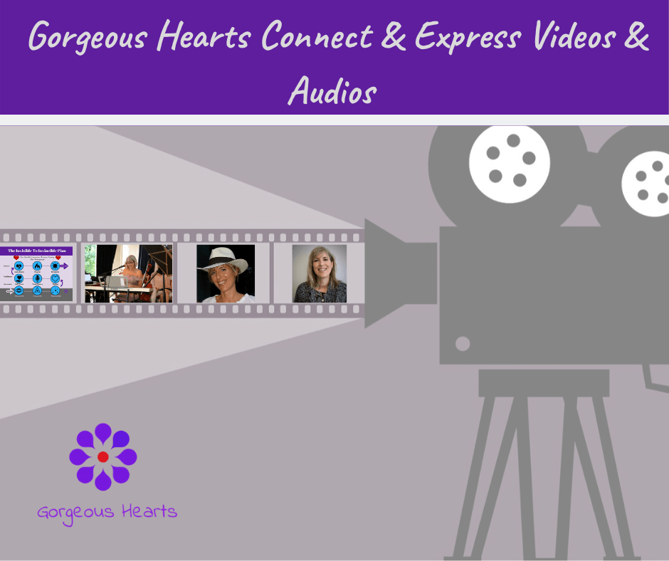 Connect & Express Videos and Audios - Gorgeous Hearts